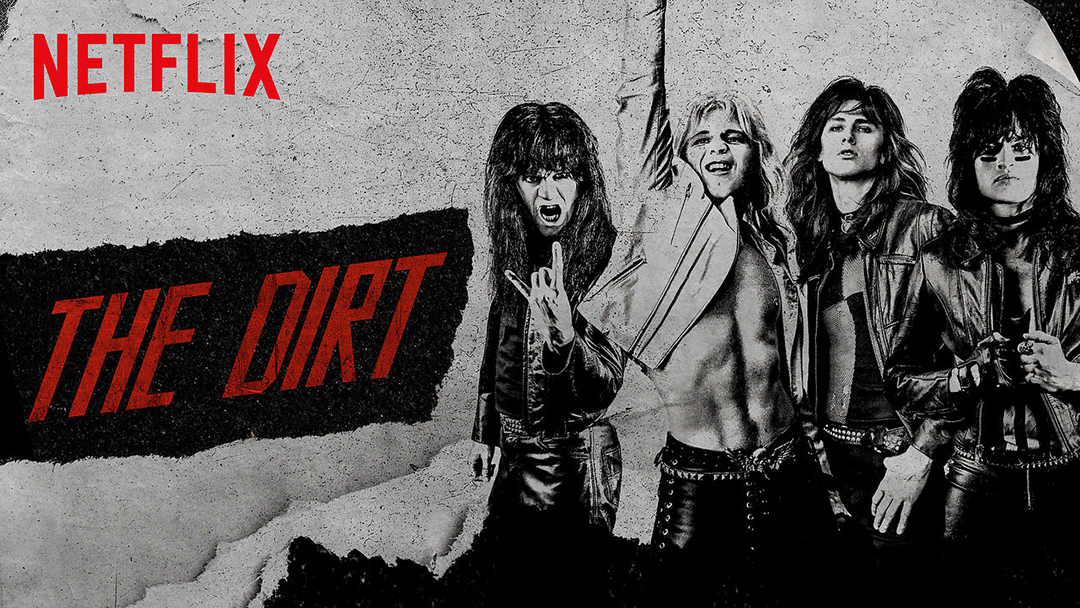 [Ciné] Mötley Crüe – The Dirt : affreux, sales et méchants
