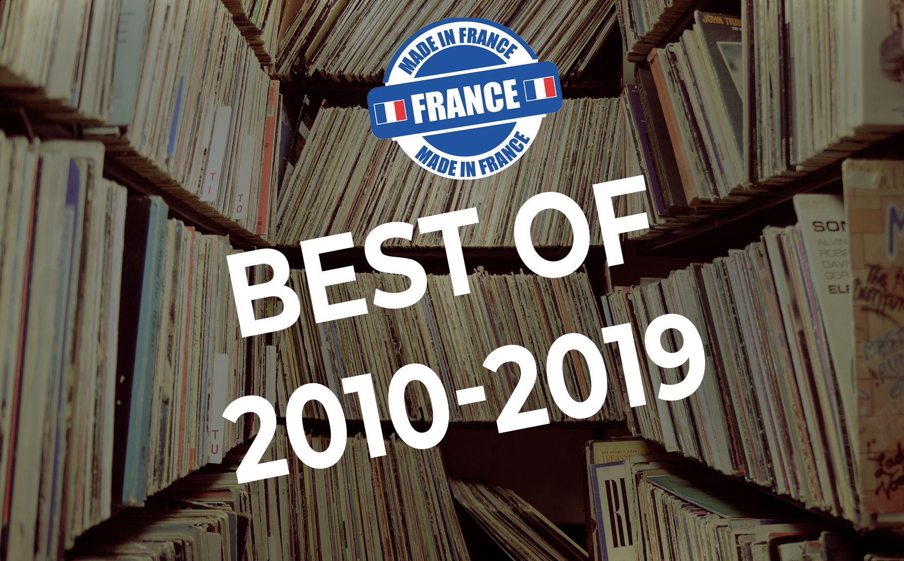 Top 10 albums rock français 2010-2019